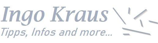 Homepage von Ingo Kraus